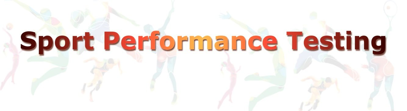 Sport Performance Testing Website